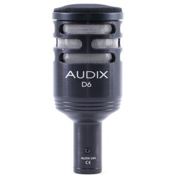 Audix D6 Dynamic Cardioid Microphone MC-3527