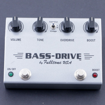 Fulltone Bass-Drive Overdrive Bass Guitar Effects Pedal P-08064