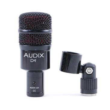Audix D4 Dynamic Hypercardioid Microphone MC-3523