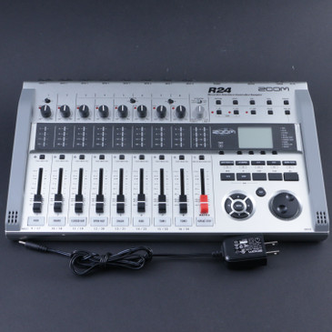 Zoom R24 Recorder:Interface:Controller & Power Supply P-08098
