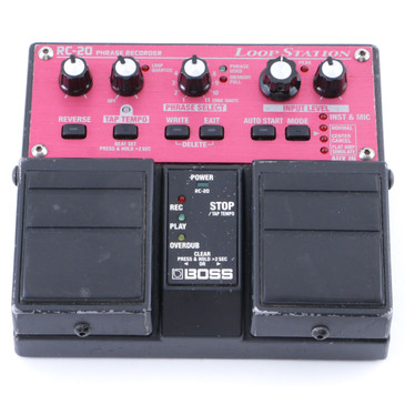 Boss RC-20 Loop Station Looper Guitar Effects Pedal P-08106