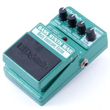 Digitech Bass Synth Wah Bass Guitar Effects Pedal P-08100
