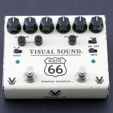 Visual Sound Route 66 V3 Compression / Overdrive Guitar Effects Pedal P-08127