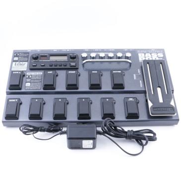 Line 6 Bass Pod XT Live Bass Guitar Multi-Effects Pedal & Power Supply P-08112