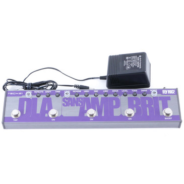 Tech 21 Brit Fly Rig 5 Guitar Multi-Effects Pedal & Power Supply P-08161