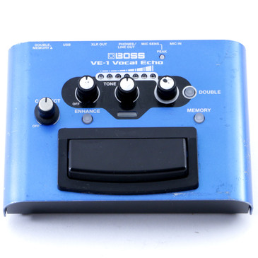 Boss VE-1 Vocal Echo Vocal Effects Pedal P-08180