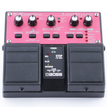 Boss RC-20 Loop Station Guitar Effects Pedal P-08175