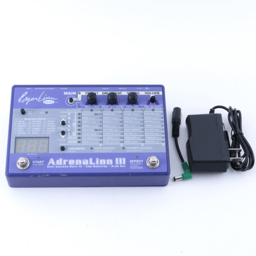 Roger Linn Adrenalinn III Guitar Multi-Effects Pedal & Power Supply P-08185