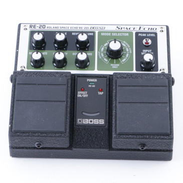 Boss RE-20 Space Echo Guitar Effects Pedal P-08199