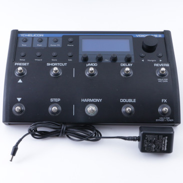 TC Helicon Voicelive 2 Vocal Effects Pedal & Power Supply P-08209