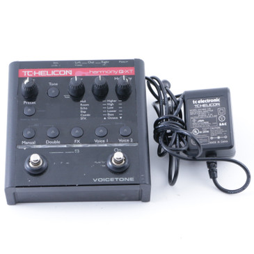 TC Helicon Voicetone G-XT Vocal Effects Pedal & Power Supply P-08236