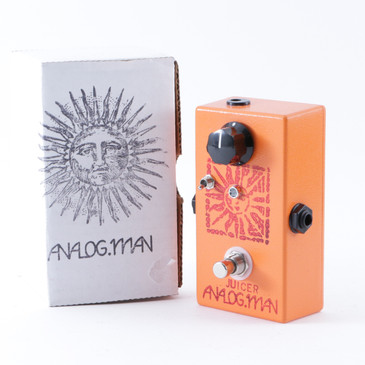 AnalogMan Juicer Compressor Guitar Effects Pedal w/ Box P-08264