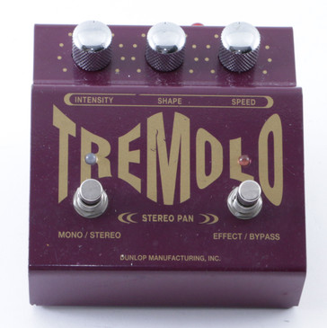 Dunlop TS-1 Stereo Tremolo Guitar Effects Pedal P-08260