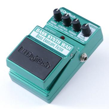 Digitech Bass Synth Wah  Guitar Effects Pedal P-08283
