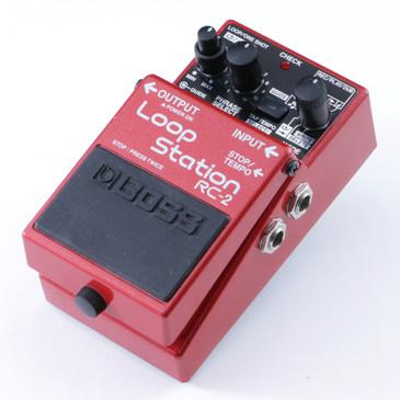 Boss RC-2 Loop Station Looper Guitar Effects Pedal P-08267