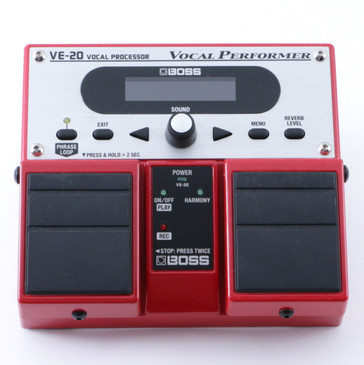 Boss VE-20 Vocal Performer Vocal Multi-Effects Pedal P-08286