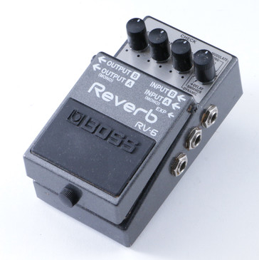 Boss RV-6 Reverb Guitar Effects Pedal P-08266