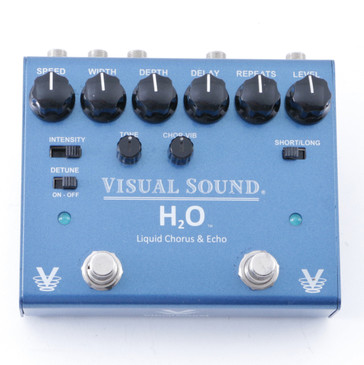 Visual Sound V3 H2O Liquid Chorus & Echo Guitar Effects Pedal P-08262