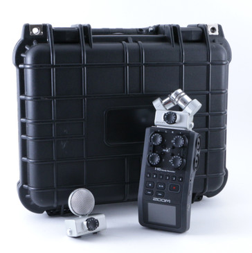 Zoom H6 Handy Recorder MSH-6 & XYH-6 with Hard Case