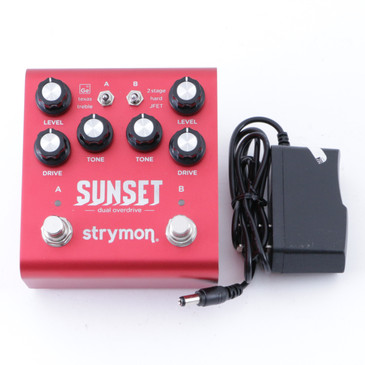 Strymon Sunset Overdrive Guitar Effects Pedal w/ PSA P-08313