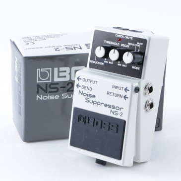 Boss NS-2 Noise Suppressor Noise Gate Guitar Effects Pedal P-08300