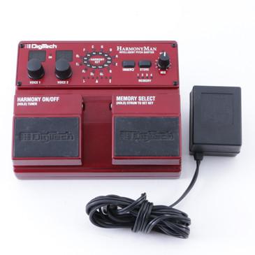Digitech HarmonyMan Pitch Shifter Guitar Effects Pedal w/ PSA P-08320