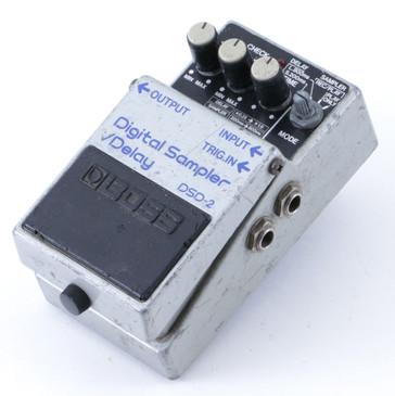 1985 Boss Japan DSD-2 Digital Sampler / Delay Guitar Effects Pedal P-08296