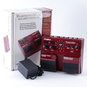 Digitech HarmonyMan Pitch Shifter Guitar Effects Pedal w/ PSA P-08344