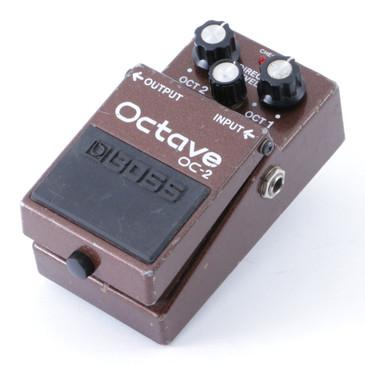 Boss OC-2 Octave Guitar Effects Pedal P-08328