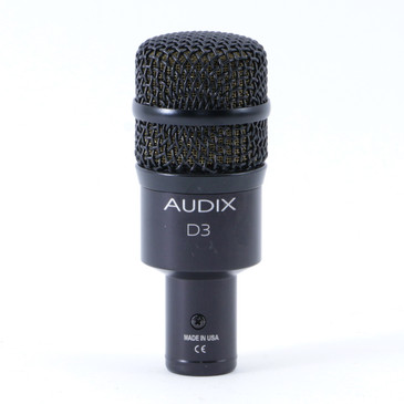 Audix D3 Dynamic Hypercardioid Microphone MC-3643