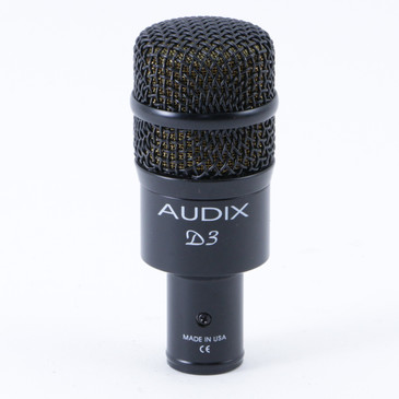 Audix D3 Dynamic Hypercardioid Microphone MC-3644