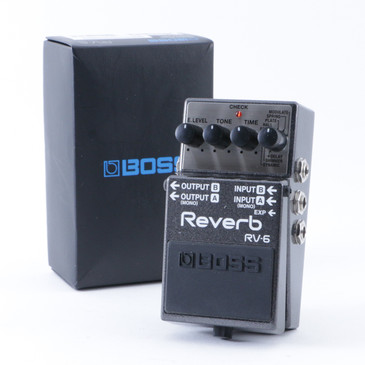 Boss RV-6 Reverb Guitar Effects Pedal w/ Box P-08354