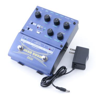 Akai E2 Head Rush Delay & Looper Guitar Effects Pedal w/ PSA P-08377