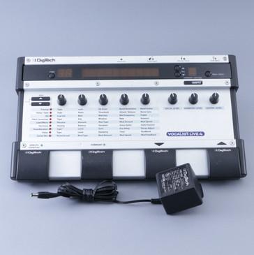 Digitech Vocalist Live 4 VL4  Vocal Multi-Effects Pedal w/ PSA P-08380