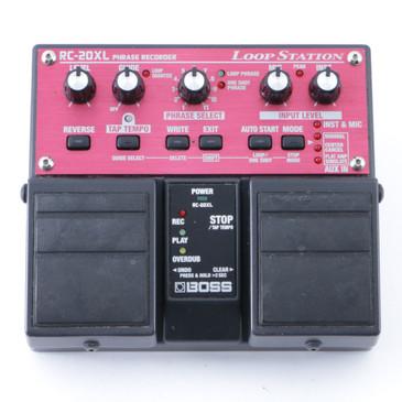 Boss RC-20XL Loop Station Looper Guitar Effects Pedal P-08376