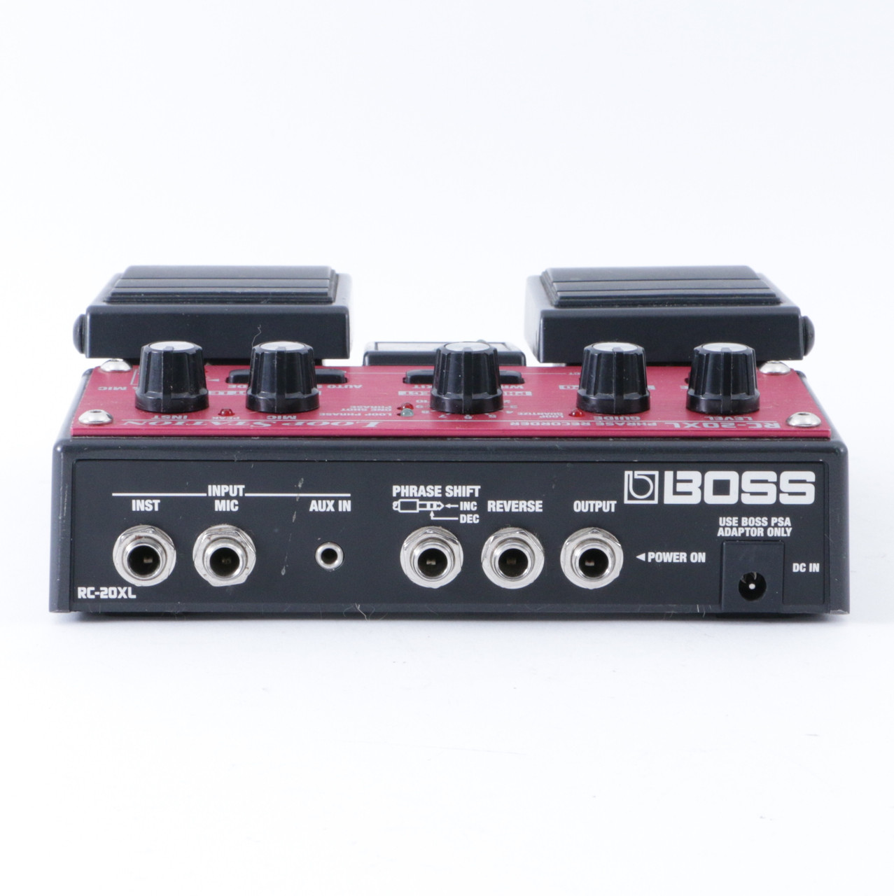 boss rc 20xl loop station looper guitar effects pedal p 08376. Black Bedroom Furniture Sets. Home Design Ideas