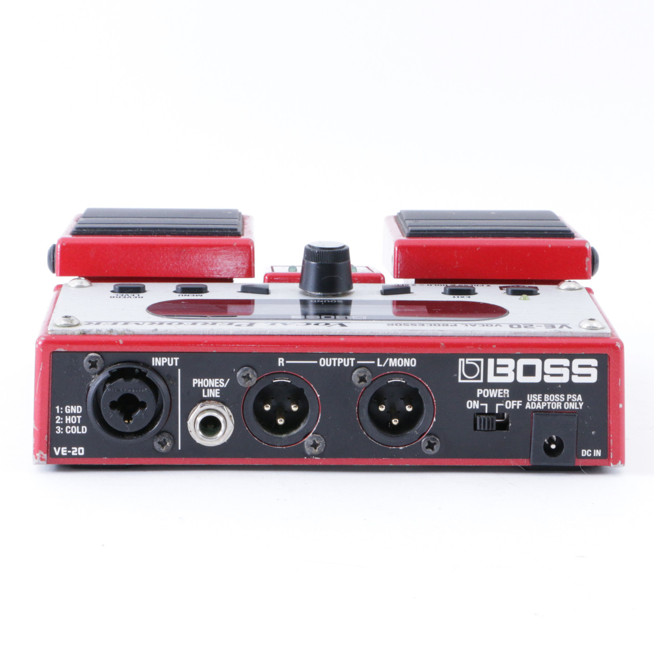 boss ve 20 vocal processor vocal multi effects pedal p 08379. Black Bedroom Furniture Sets. Home Design Ideas