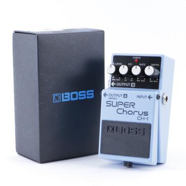 Boss CH-1 Super Chorus Guitar Effects Pedal w/ Box P-08352