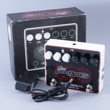 Electro-Harmonix Soul Pog Pitch Shifter & Overdrive Guitar Effects Pedal P-08414
