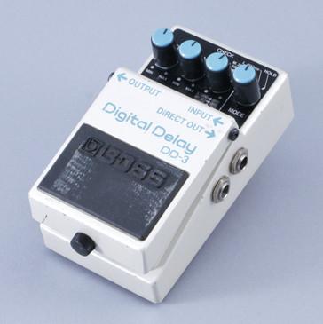 Boss DD-3 Digital Delay Guitar Effects Pedal P-08390