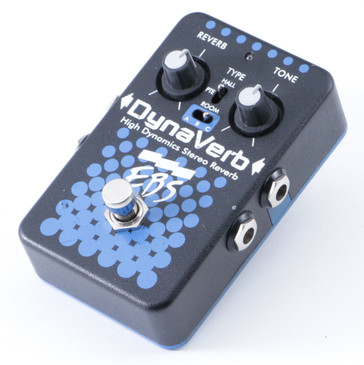 EBS DynaVerb Reverb Guitar Effects Pedal P-08423