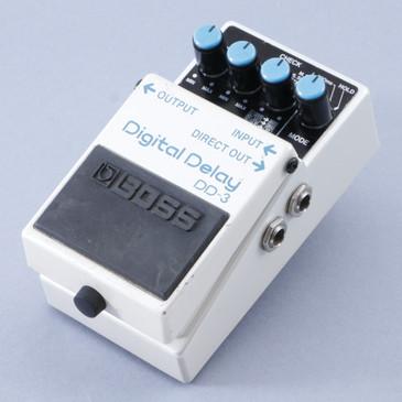 Boss DD-3 Digital Delay Guitar Effects Pedal P-08425