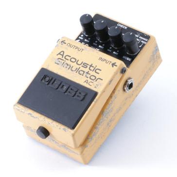 Boss AC-2 Acoustic Simulator Guitar Effects Pedal P-08471