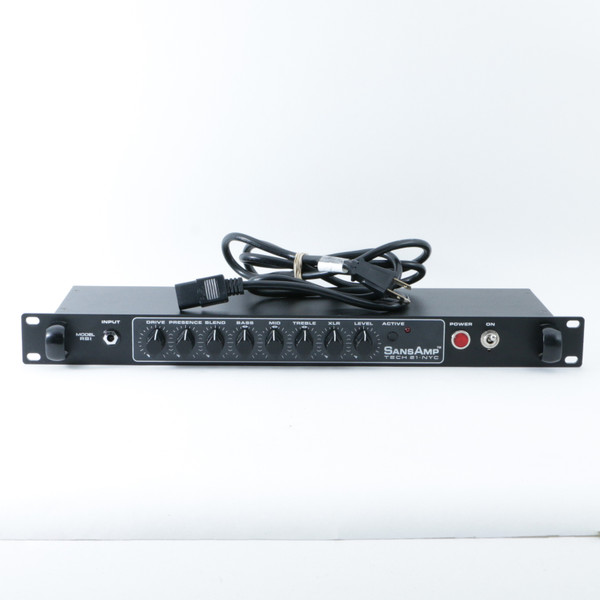 tech 21 rbi bass pre amp multi effects rack unit power supply p 08511. Black Bedroom Furniture Sets. Home Design Ideas