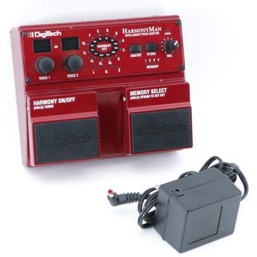Digitech HarmonyMan Pitch Shifter Guitar Effects Pedal w/ PSA P-08529