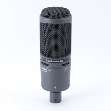 Audio-Technica AT2020USB Condenser Cardioid Microphone MC-3696