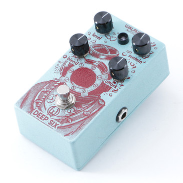 Walrus Audio Deep Six Compression Guitar Effects Pedal P-08609
