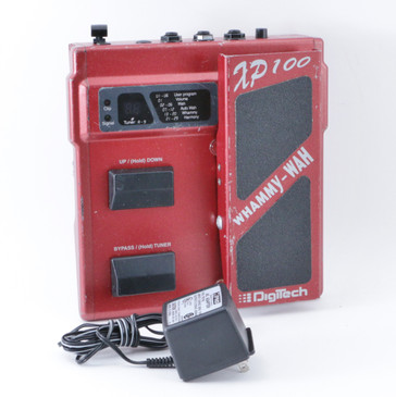 Digitech XP100 Whammy Wah Pitch Shifter Guitar Effects Pedal w/ PSA P-08619