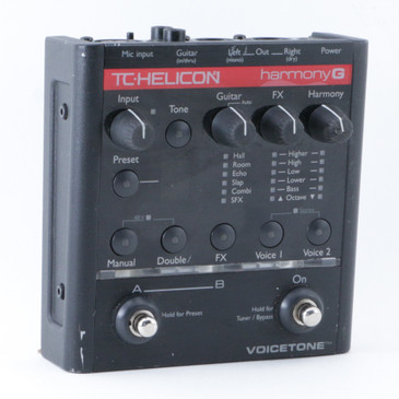 TC Helicon Harmony G Vocal Multi-Effects Pedal P-08628