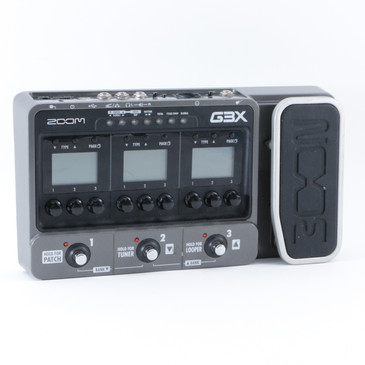 Zoom G3X Guitar Multi-Effects Pedal P-08650